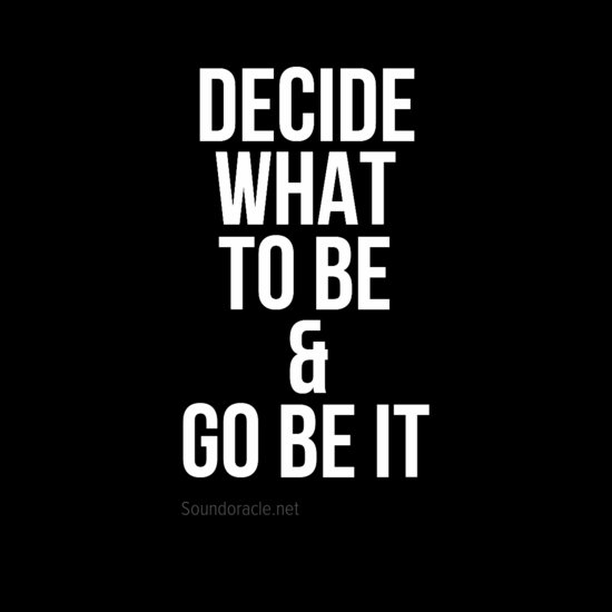 Decide what to be & go be it  #quotes #musicquotes #mylifequotes #quotestoliveby #quoteoftheday #producerquotes #rap #rapquotes #hiphop #hiphopquotes #musicproducerquotes #producerquotes #producers #musicprodcuers #producerlife #producergrind<br>http://pic.twitter.com/KIxCuKr20J