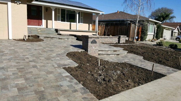 Select Pavers On Twitter New Frontyard Renovation Including A
