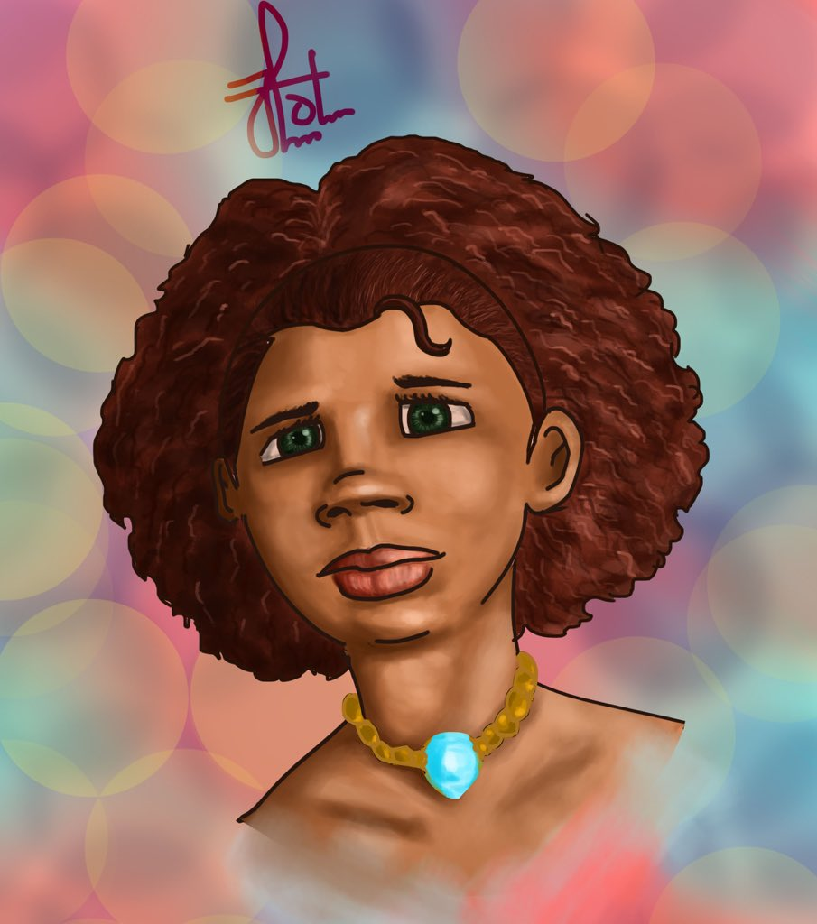 Hi, my name is Olamide Ojo, and I'm a digital artist  I draw