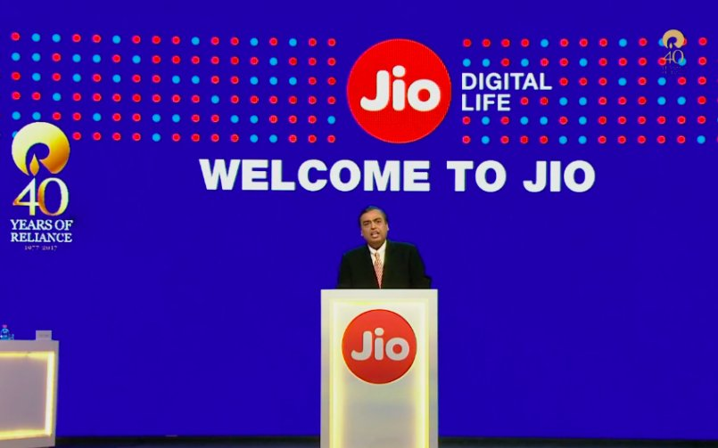 Jio Won GloMo Award for Best Mobile Operator Service for Consumer