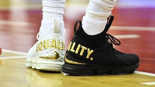 ba79c3ff54380 nike lebron james to give away 400 limited edition equality sneakers  lebron15 equality