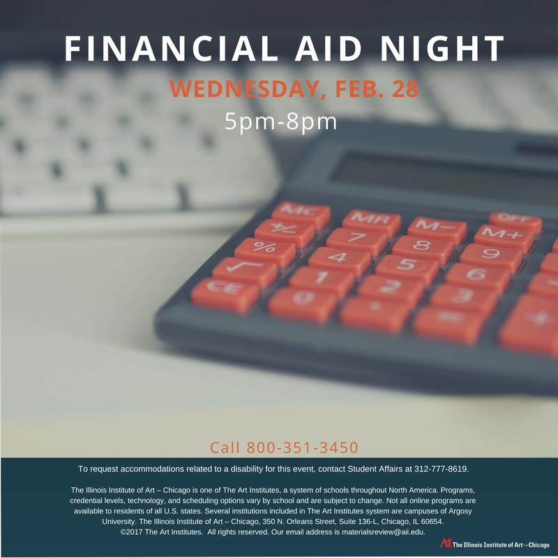 Please join #AiChicago on #FinancialAidNight tomorrow.