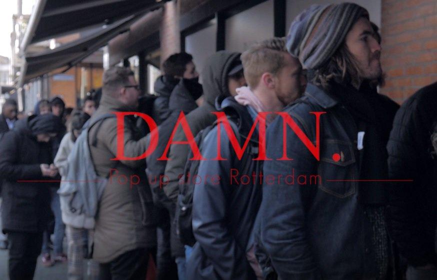 VIDEO: Een exclusief kijkje in Kendrick Lamar's DAMN. pop-up store in Rotterdam:  #THEDAMNPOPUP