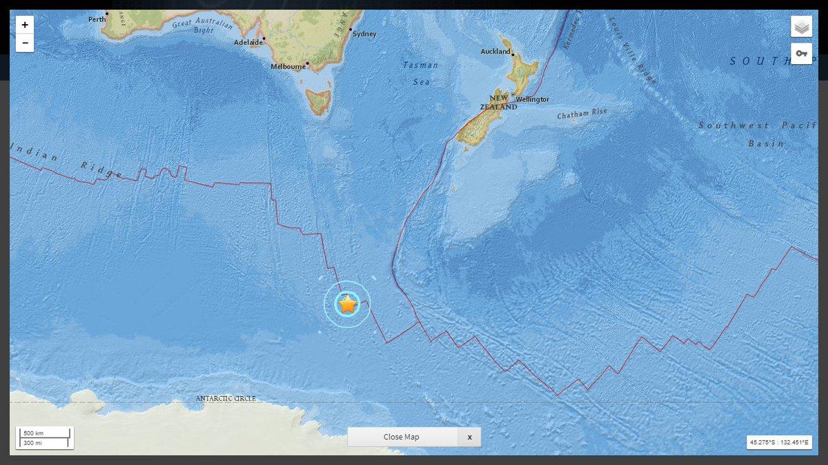 Australia Map 785.American Earthquakes على تويتر Very Strong Earthquake Mwb 5 9