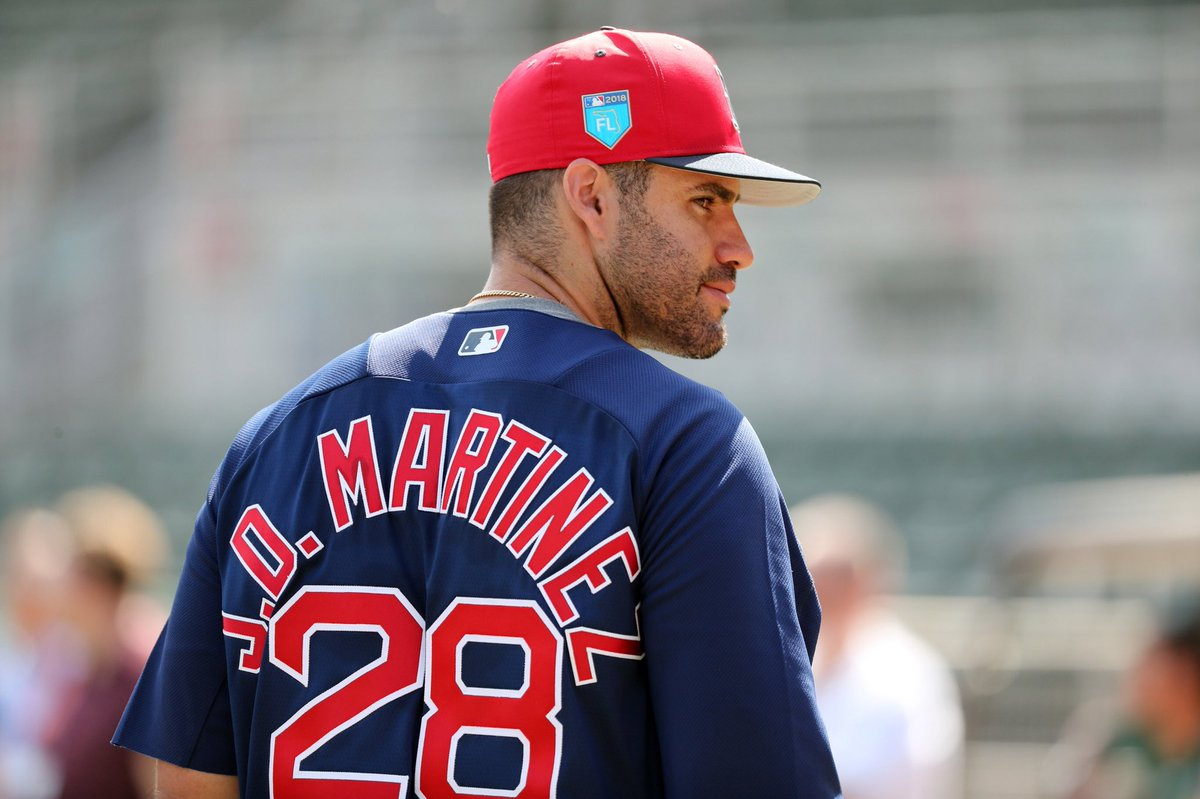 2d90fd00c Baseball News  Looks like new Red Sox signee J.D. Martinez will be going ...