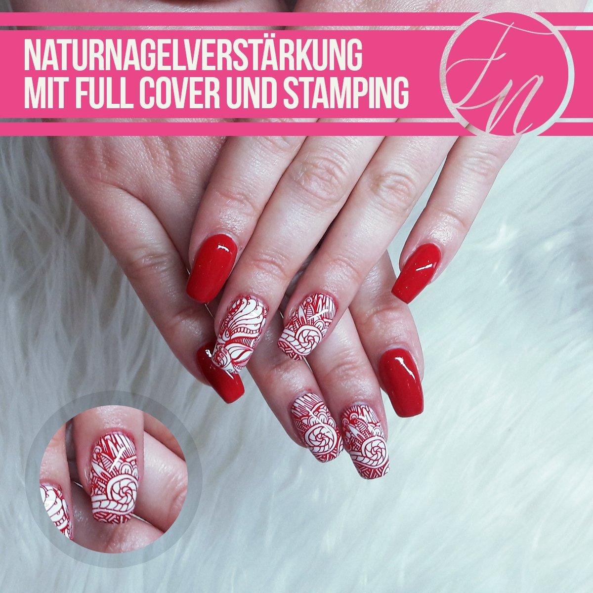 Ansprechend Nageldesign Rot Referenz Von #naturnagelverstaerkung Hashtag On Twitter