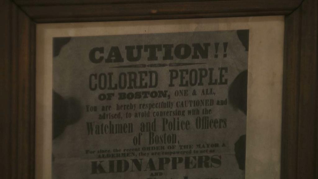 1851, flier, boston, fugitive slave acts, runaway slaves, black history,