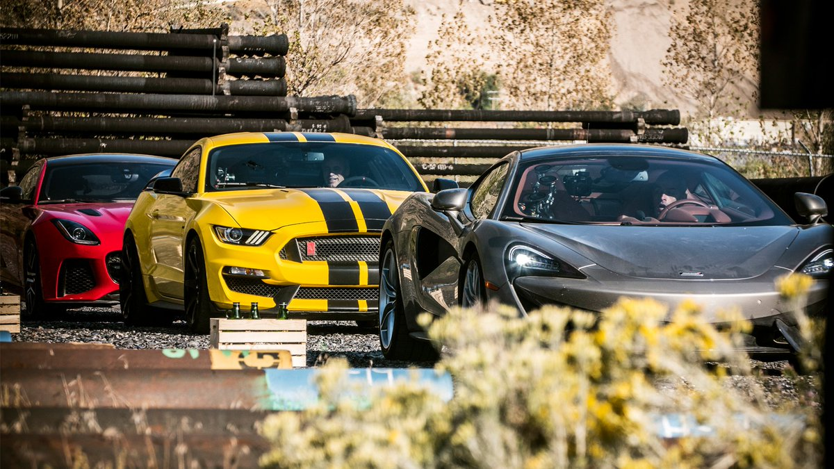 Top gear on twitter a jaguar f type svr mclaren 570gt or a ford top gear on twitter a jaguar f type svr mclaren 570gt or a ford mustang gt350 r tuned by a man called john hennessey take your pick then go watch publicscrutiny Image collections