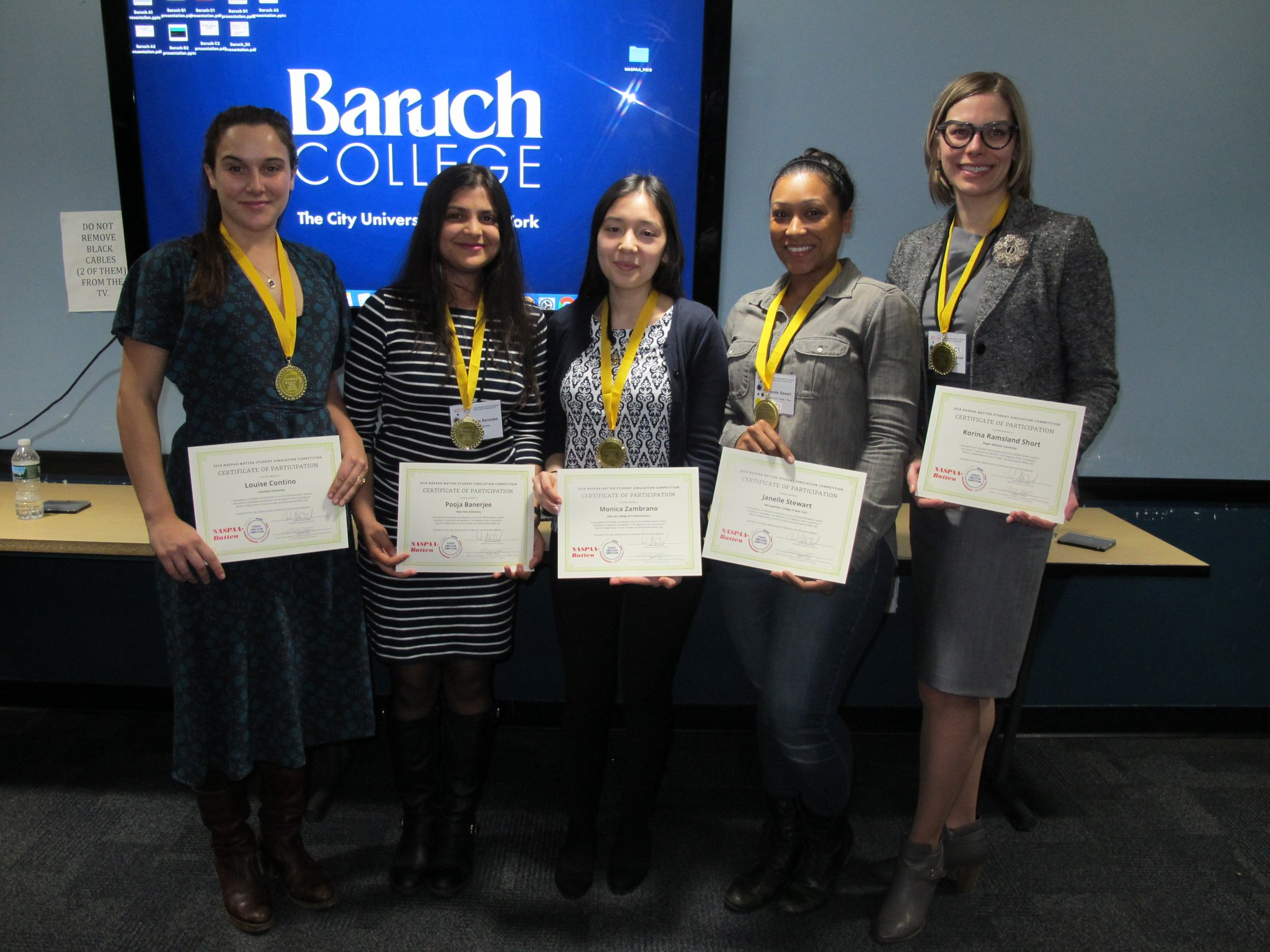 Baruch College On Twitter Meet The Winning Teams That Averted A