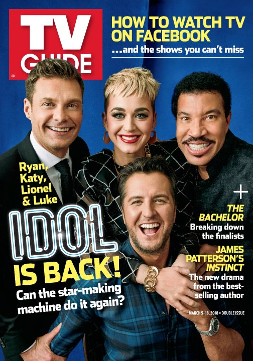 FIRST LOOK: It's all smiles with these 4 on the cover of @TVGuideMagazine, on stands Thursday!