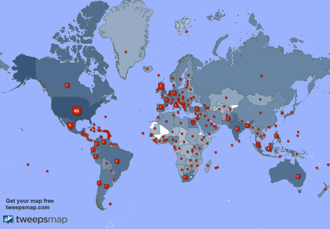 I have 475 new followers from India, Egypt, Mexico, and more last week. See https://t.co/Rw9AAvUybD https://t