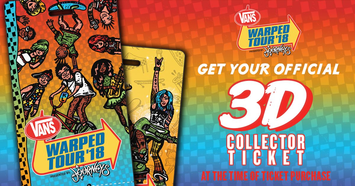 Vans warped tour on twitter 3d souvenir ticket remember this vans warped tour on twitter 3d souvenir ticket remember this summer forever with our exclusive 3d ticket only available when you purchase online m4hsunfo