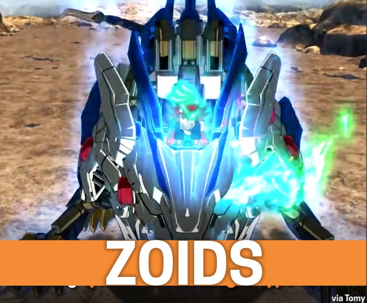 zoids hashtag on twitter
