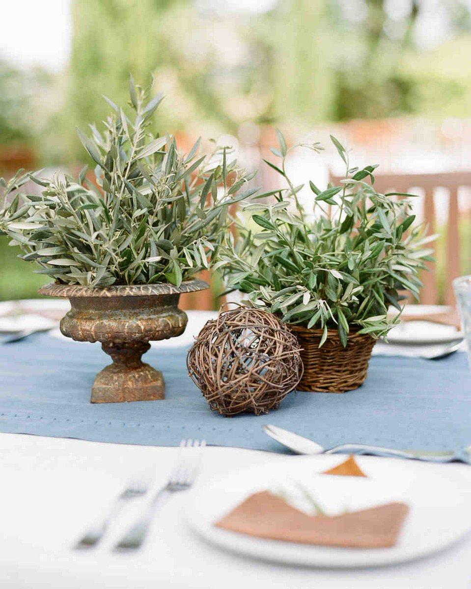 Martha Weddings On Twitter 25 Non Floral Wedding Centerpiece Ideas