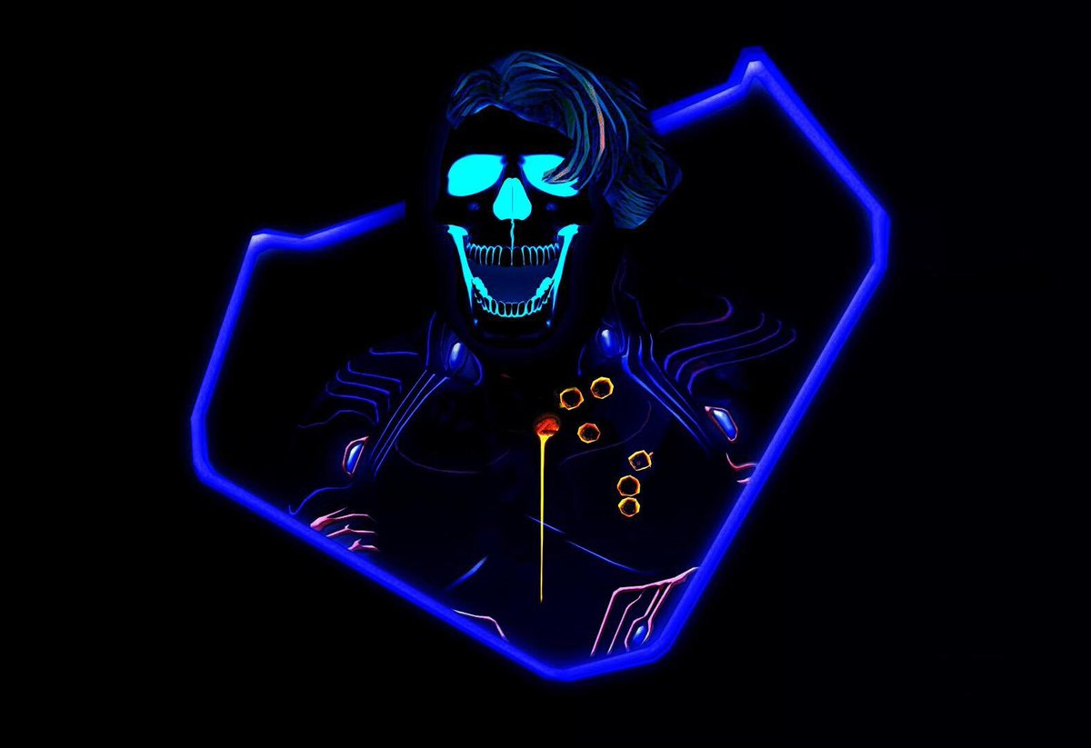 Geek vibes nation on twitter neon quicksilver - Neon hd wallpaper for mobile ...