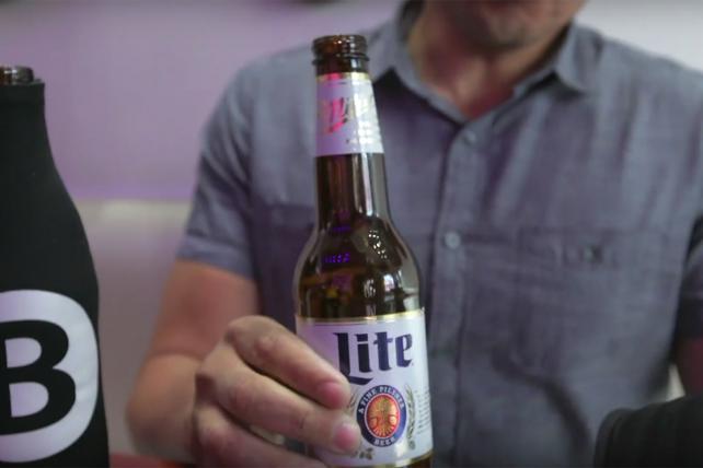 Miller lite alcohol ad