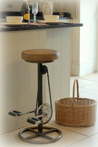 Admirable Casagear On Twitter Bar Stool With Bicycle Pedal Style Evergreenethics Interior Chair Design Evergreenethicsorg