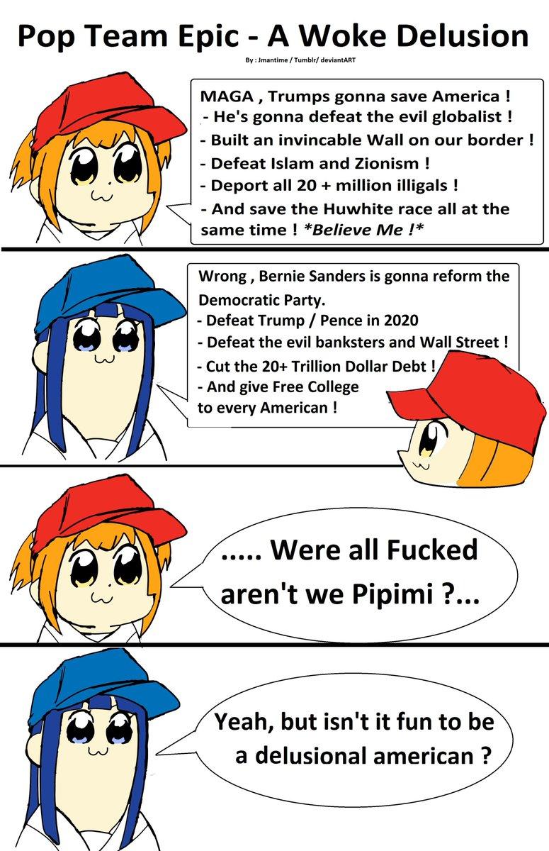 Anime Manga Funny America Politics Democrats Republicans Trump Maga Lol Woke Meme Memes Pictwitter