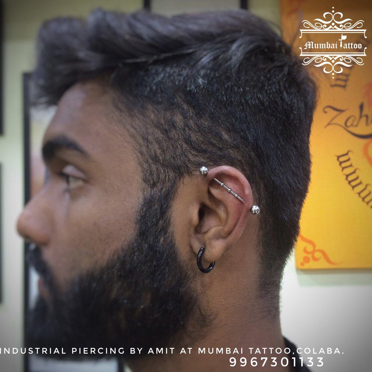 Mumbai Tattoo Colaba On Twitter Industrial Piercing