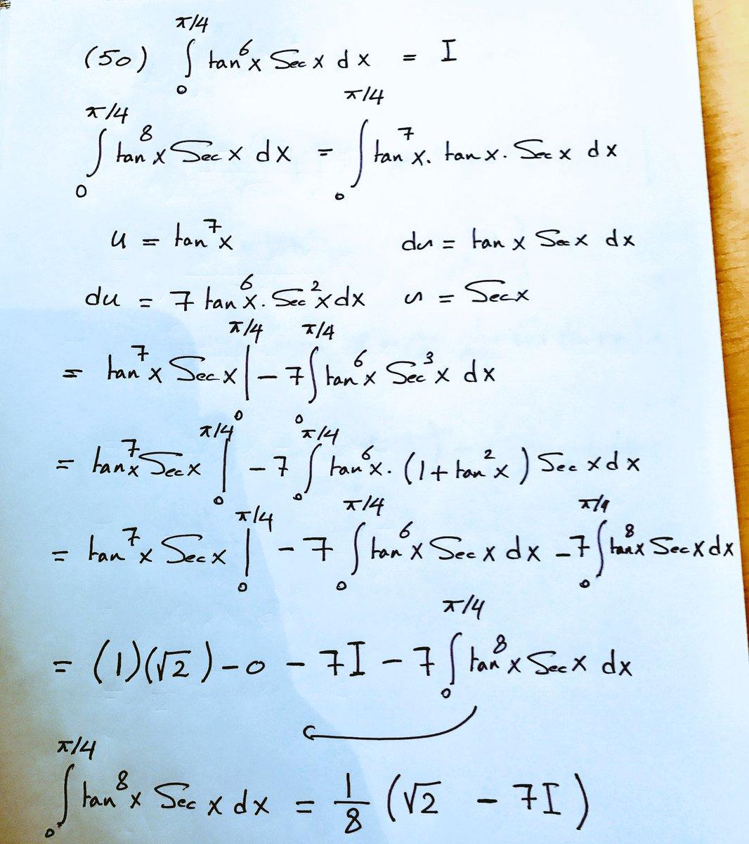 calculus homework solutions