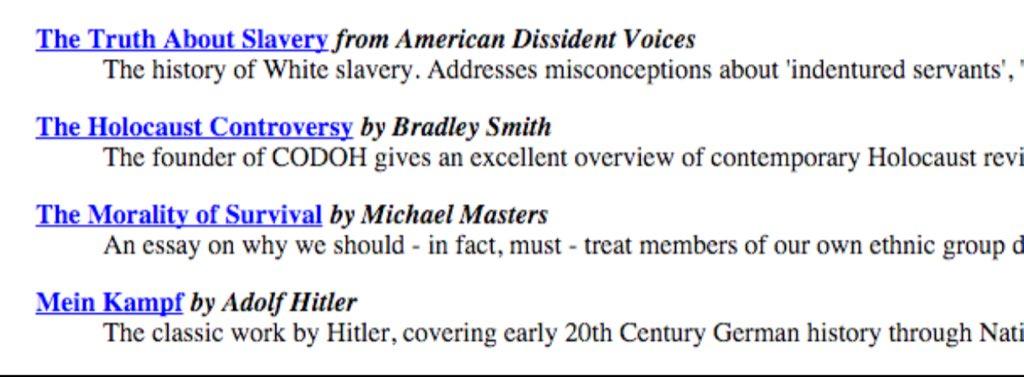 slavery and holocaust essay