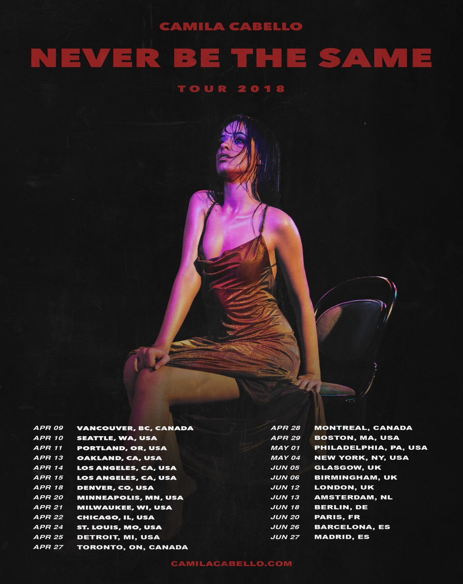 EUROPE!!!! i'm adding MORE dates to the #neverbethesametour, see you guys this summer 🔮👽🎆💜♠️🔮tickets on sale this friday at https://t.co/MnvUQ4nkXj ⚡️ Berlin - June 18 Paris - June 20 Barcelona - June 26 Madrid - June 27