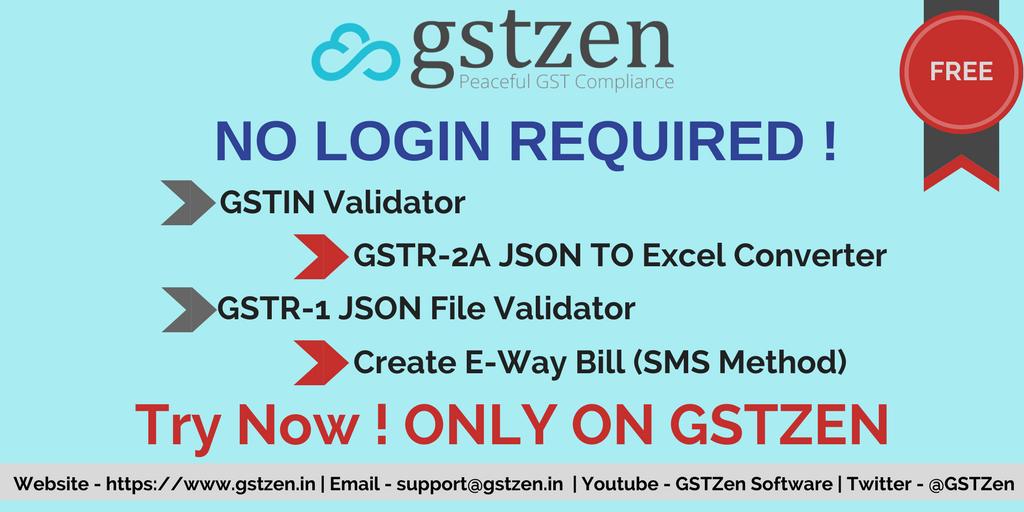 GST Zen on Twitter: