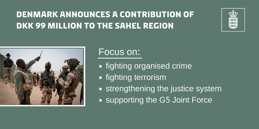 Denmark Pledges DKK 99 Million To Support Prevention Of Conflict And Regional Peace Stability In The Sahel Region G5Sahel WeAreAlliespictwitter