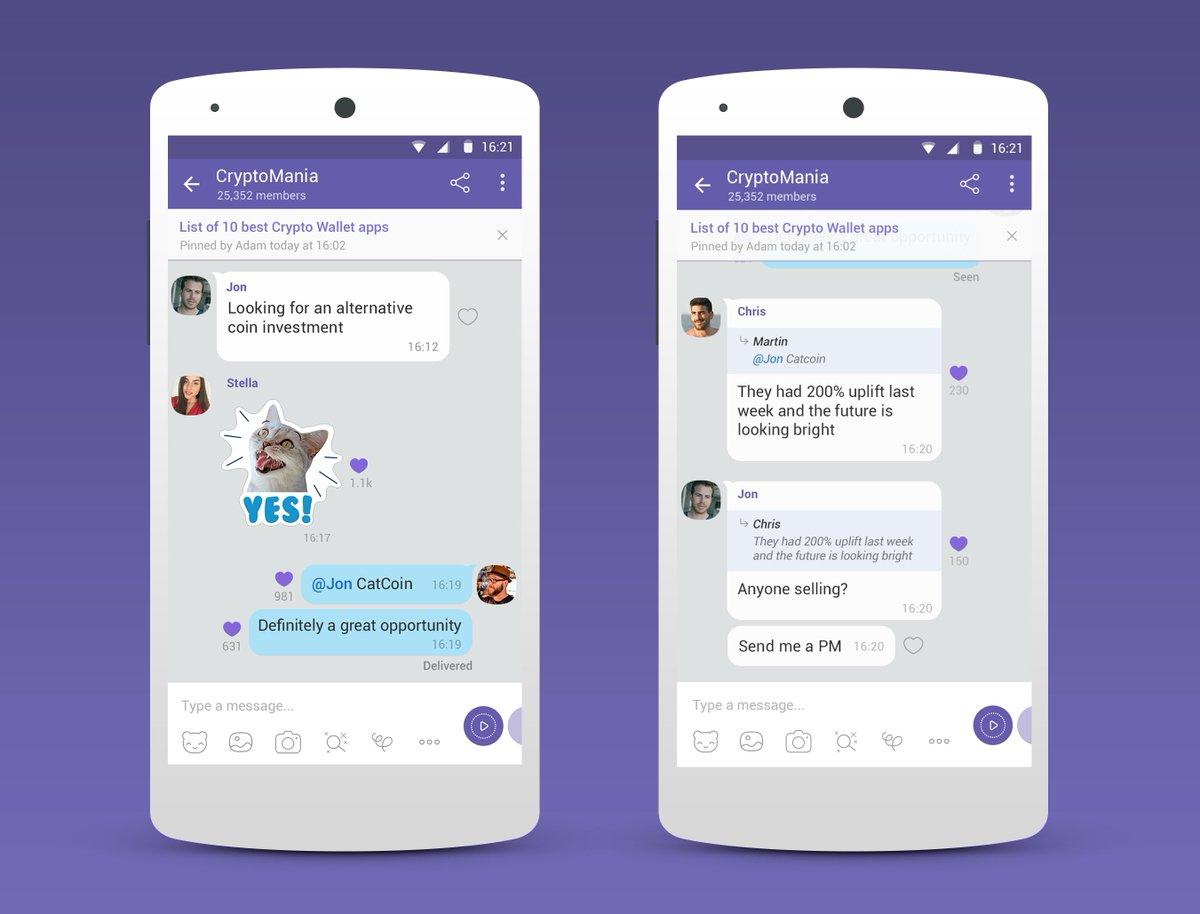 Viber запускає нову функцію – глобальні спільноти, які можна монетизувати  https://t.co/8C9Ad5UBAm https://t.co/Z4RnM9rNj6