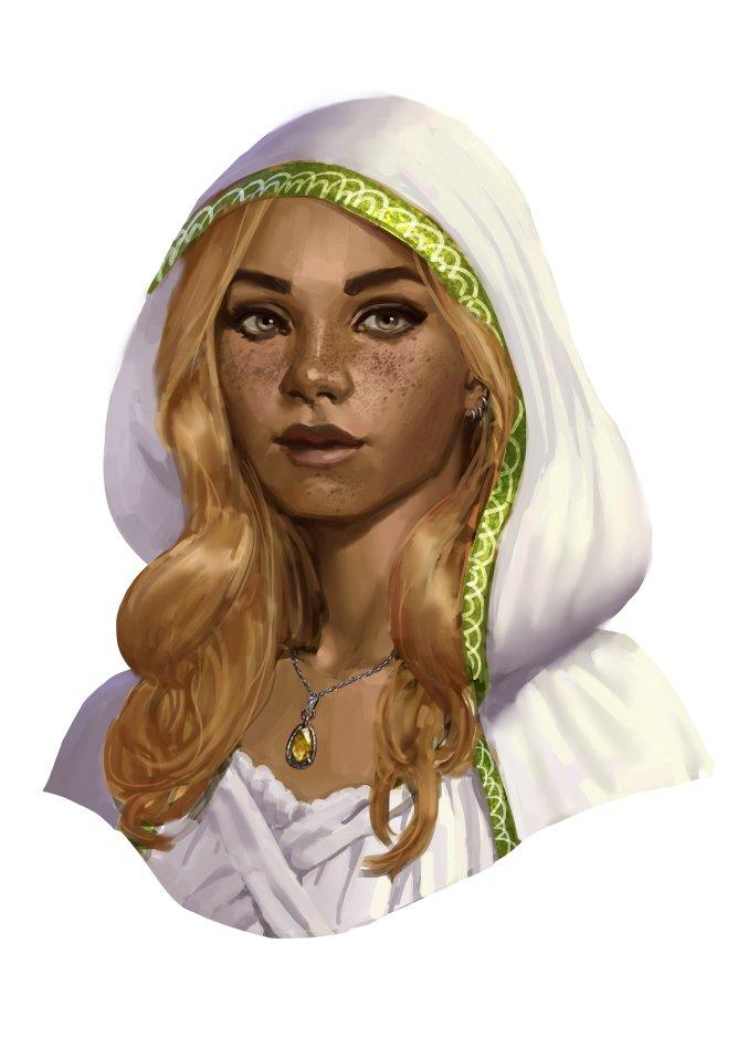 Fantasy Art Character Portraits Priestess