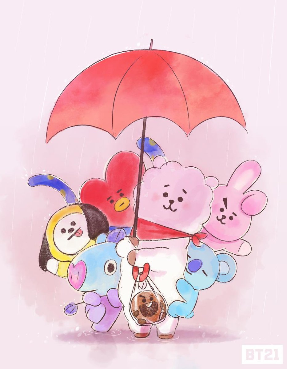 Waiting for the rainbow! 🌈 #BT21 https:/...