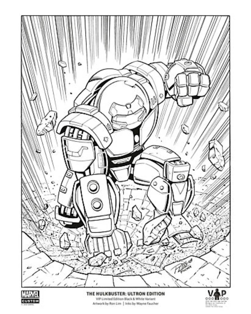 Lego Infinity War Coloring Pages