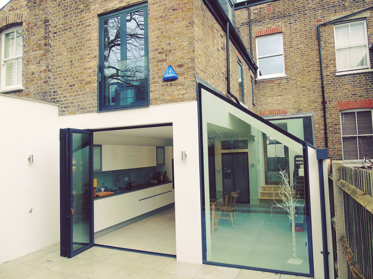 Snuflex SF55 3 Door bifold matching Sunflex French doors with our own virtually frameless balustrade u0026 virtually frameless shaped window. & SUNFLEX UK (@SUNFLEXUK) | Twitter