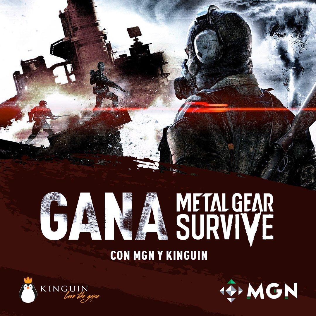 ¡SORTEO CON @MGNesp! ¡PARTICIPA Y GANA #MetalGearSurvive O EL PRECIO DEL JUEGO PARA COMPARTE CUALQUIER OTRO JUEGO QUE TU QUIERAS EN LA TIENDA! ;) RT + entrar en este link para participar - kinguin.net/7en/lv8