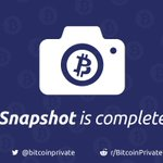 Image for the Tweet beginning: The long-awaited $BTCP snapshot has