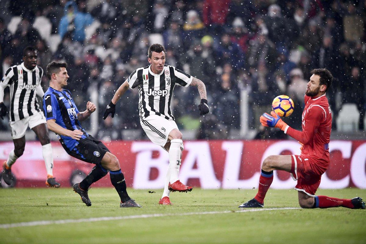 Juventus vs Atalanta Match Highlights Coppa TIM at Allianz Stadium Torino 28 February 2018