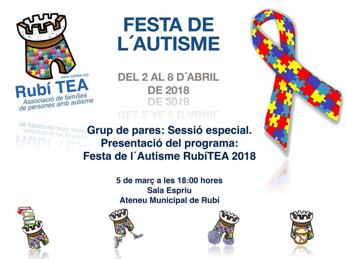 Resultado de imagen de Festa de l'autisme a Rubí