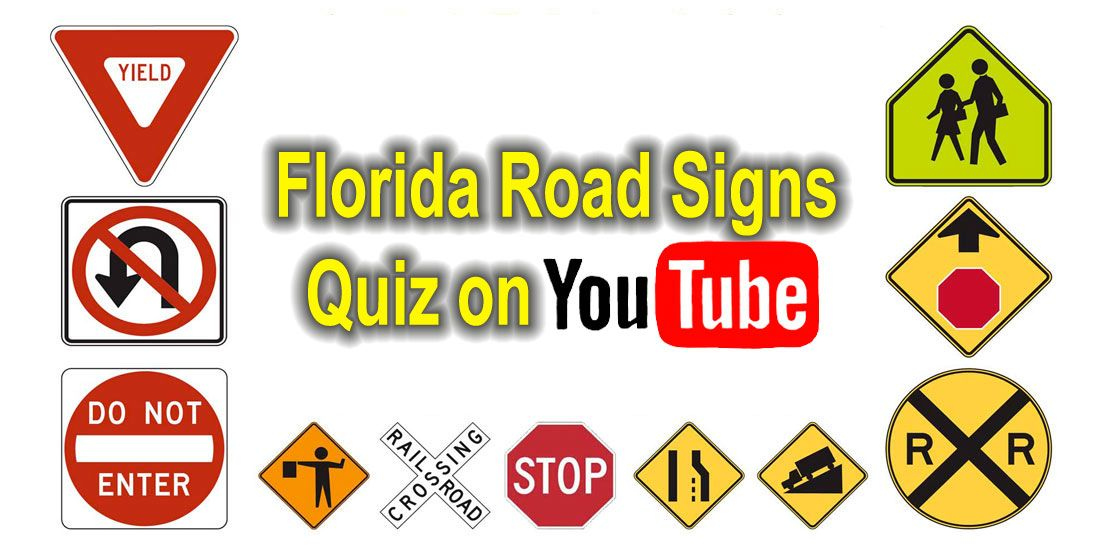 florida drivers license road sign test