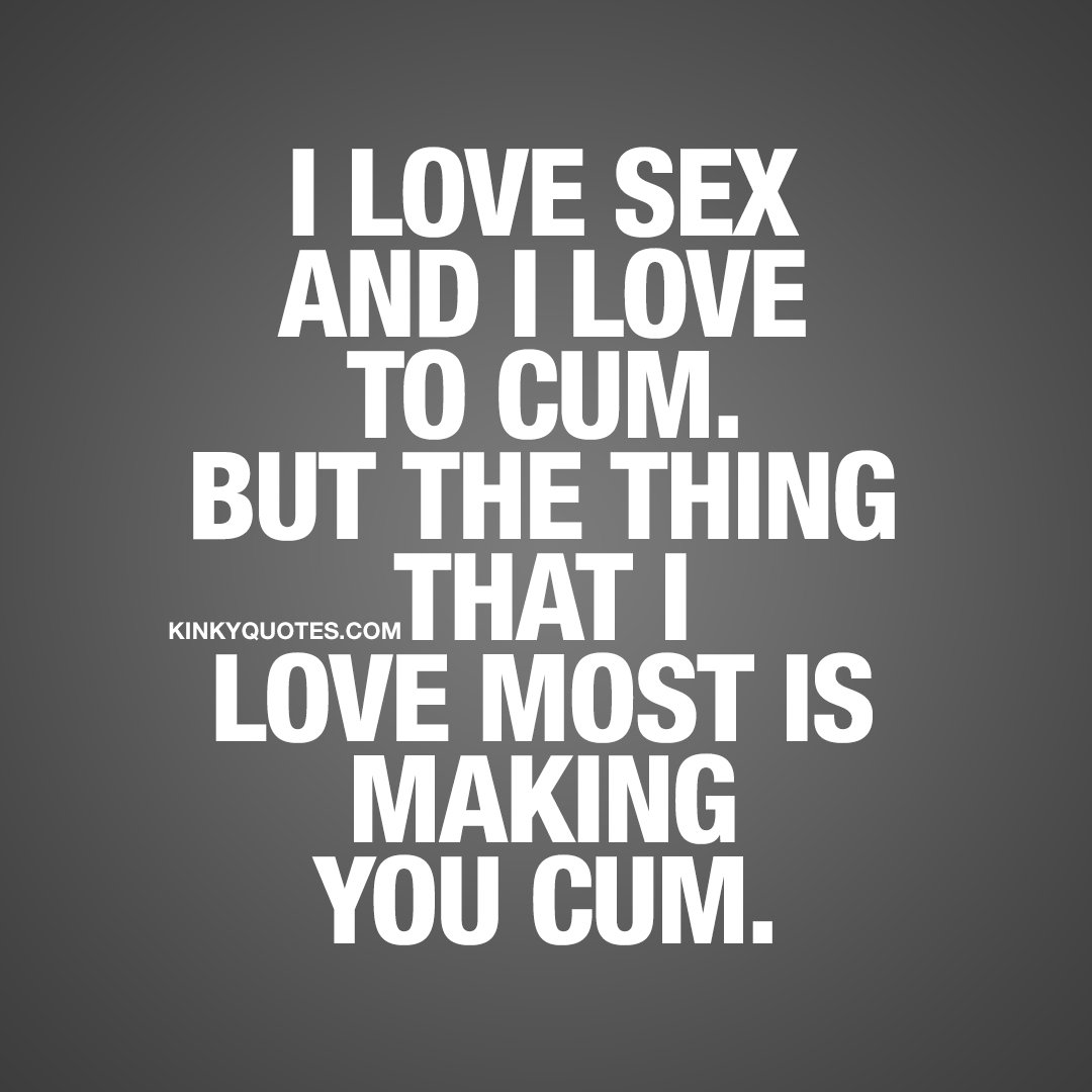 Quotes on love and sex