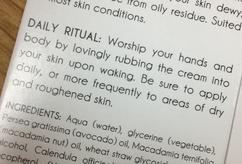 Joanne Lau On Twitter Wow The Instructions For My New Hand Cream