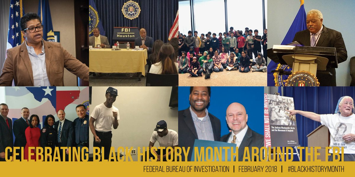 During #BlackHistoryMonth, FBI field offices across the country celebrated history & diversity in their communities.