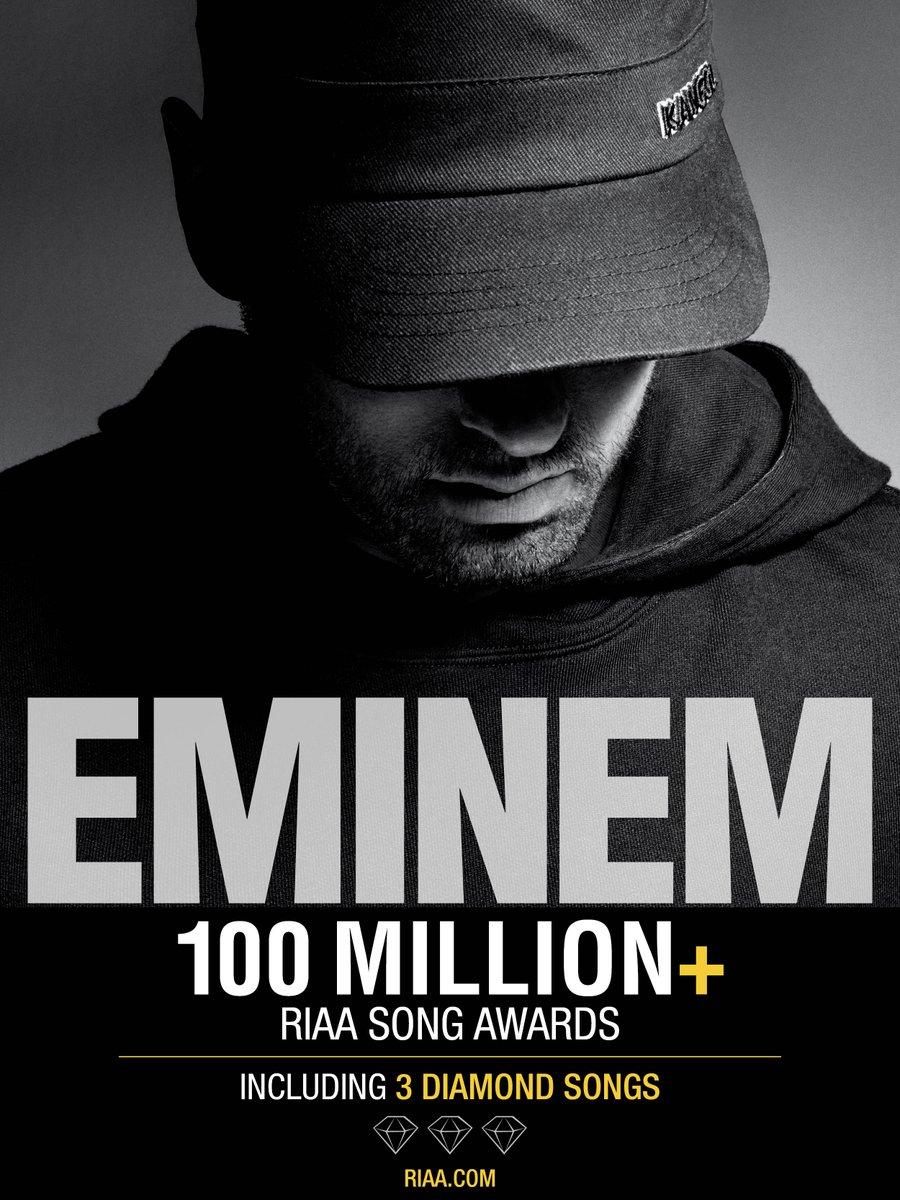 Eminem, Lose Yourself Şarkısıyla Bir Diamond Sertifikası Daha Kazandı
