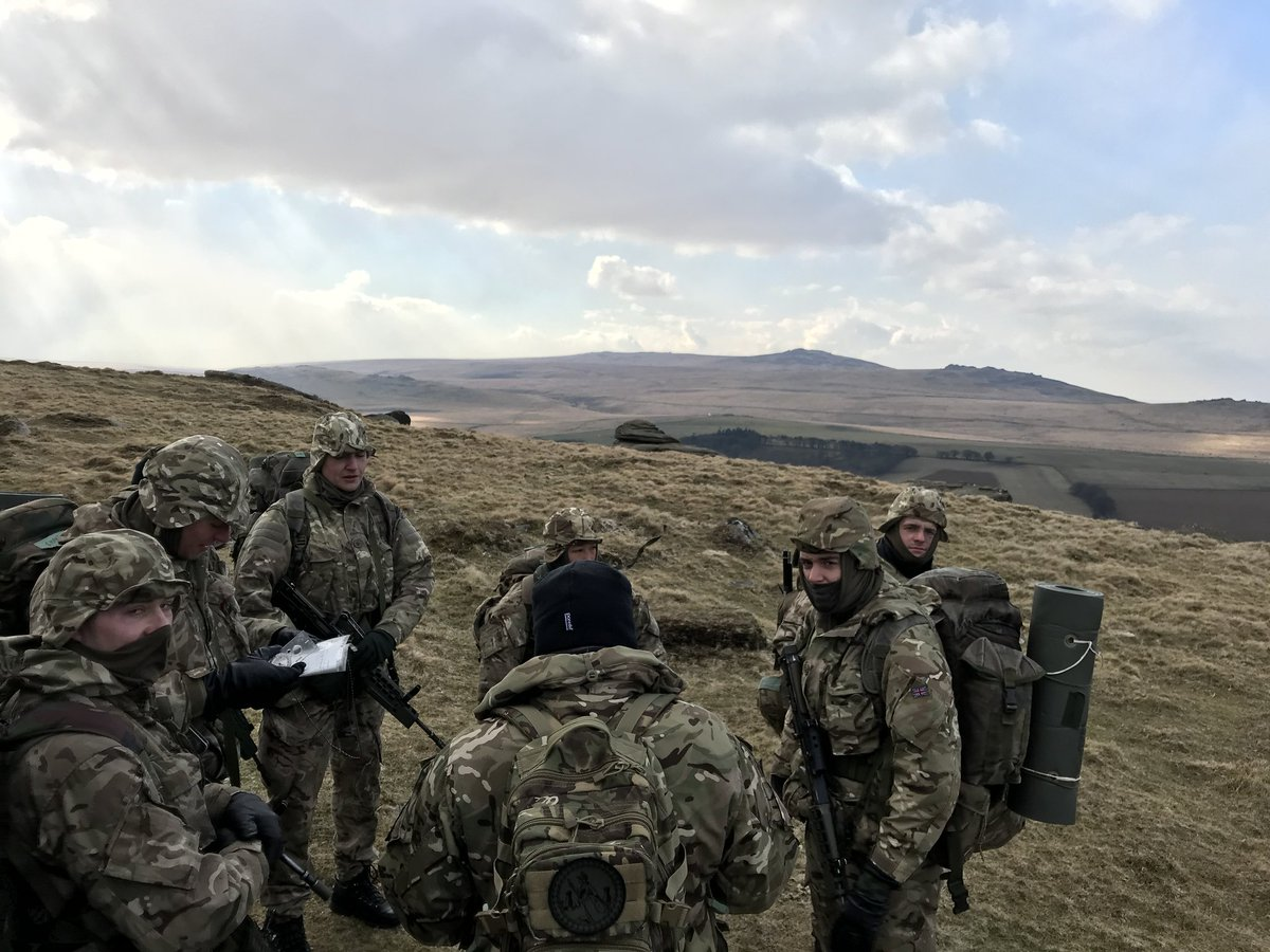"Britannia Royal Naval College on Twitter: ""More images from the #navigation #exercise on #Dartmoor. The cadets will be digging deep having been in the field since Monday in the current climate. ❄❄❄…"