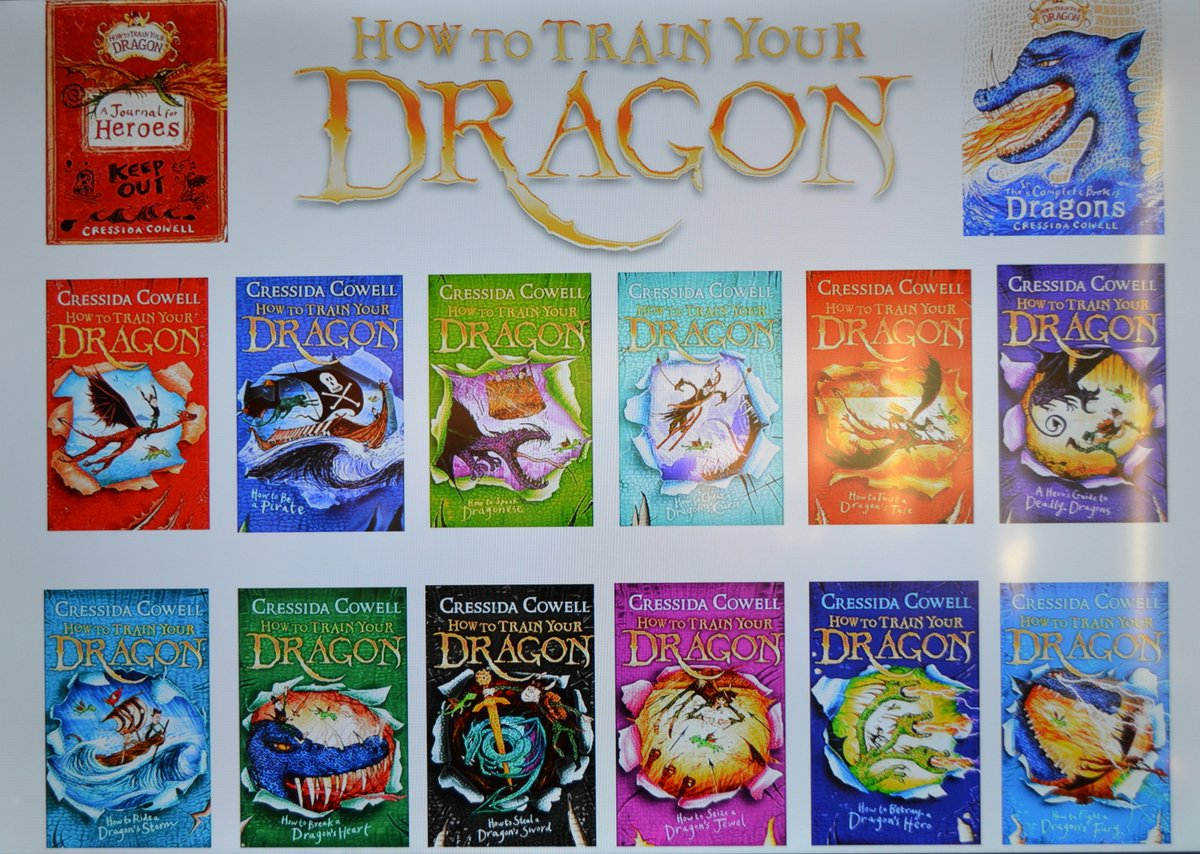 Warwick school on twitter in anticipation of worldbookday how to train your dragon cressidacowell spoke of her passion for writing at an early age and gave warwick junior school and warwickprep pupils a ccuart Image collections
