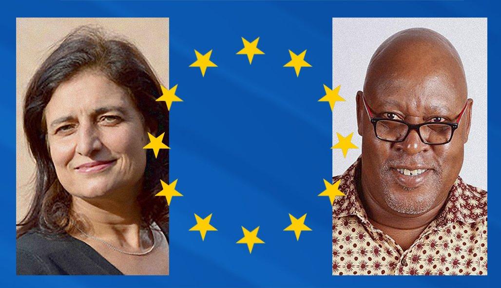 #Rencontres et #dédicaces avec les auteurs Androula Michael (Chypre) et Sayouba Traore (Burkinafaso) dans le cadre de la Semaine nationale d'éducation contre le racisme. #racisme #citoyenneté #lormont #europe #éducation https://t.co/A2iRa0CZ9Q
