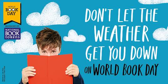 Dont let the weather get you down on #WorldBookDay ❄ You can still celebrate with us and heres how: bit.ly/2COoyTW