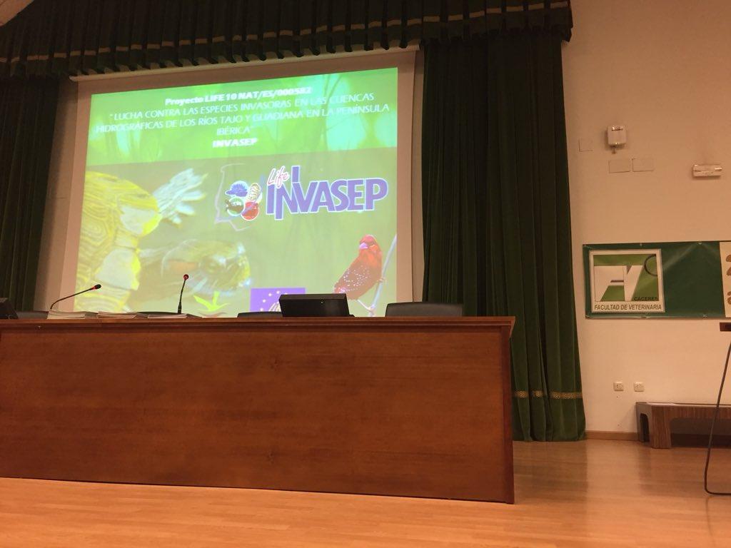 """Comienza la jornada """"Especies invasoras y mascotismo"""" https://t.co/jGakAVerMq"""