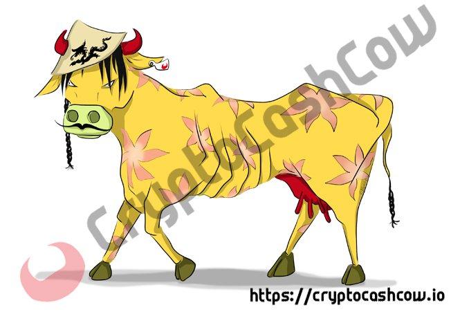 CryptoCashCow China Cow