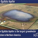 #WaterWednesday! Did you know the #OgallalaAquifer is the largest #groundwater source in Northern America? #kswater #KSWaterVision @USDA_NRCS @Ogallala_water @KStateRschExtn @groundwaterfdn