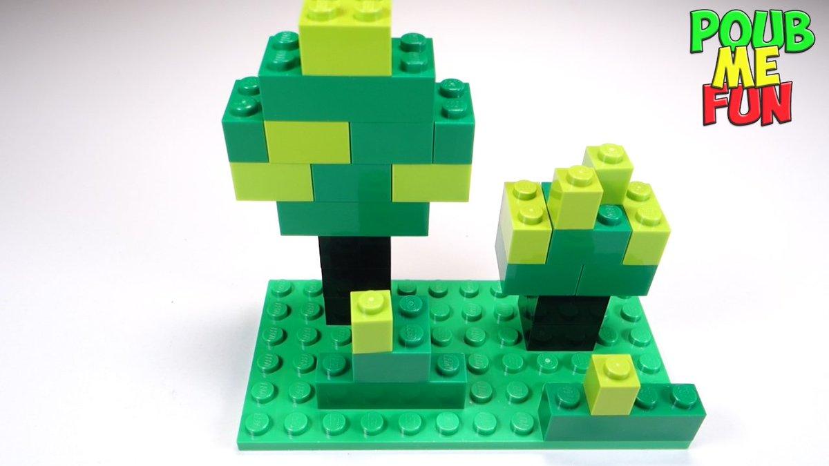 Fladens Marc On Twitter Minecraft Tree Bush Forest Lego How